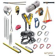 Веревка, карабины, жумары, обвязки для ВЫСОТНЫХ работ и не только!