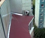 Ремонт крыши балконного козырька в Алматы 328 98 20 недорого