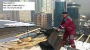 Ремонт крыши,  и балконных козырьков в Алматы 328-98-20