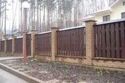 Изготовление деревянных заборов и ограждений