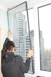Замена стеклопакетов на окне,  двери.