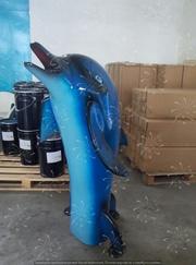 Фонтан для бассейна дельфин