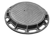 Люк чугунный канализационный ГОСТ 3634-99.Производство и поставка