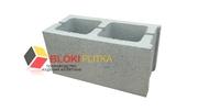 Сплитерный блок серый гладкий толстостенный 3см