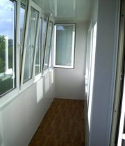 Отделка балкона под ключ. Низкие цены. Скидки.