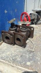 Клапаны (вентили) запорные фланцевые чугунные