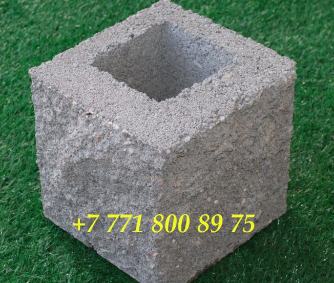 Сплитерный блок половинка (рваный,  серый)