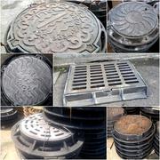 Люки чугунные канализационные Тип С вес 80 кг